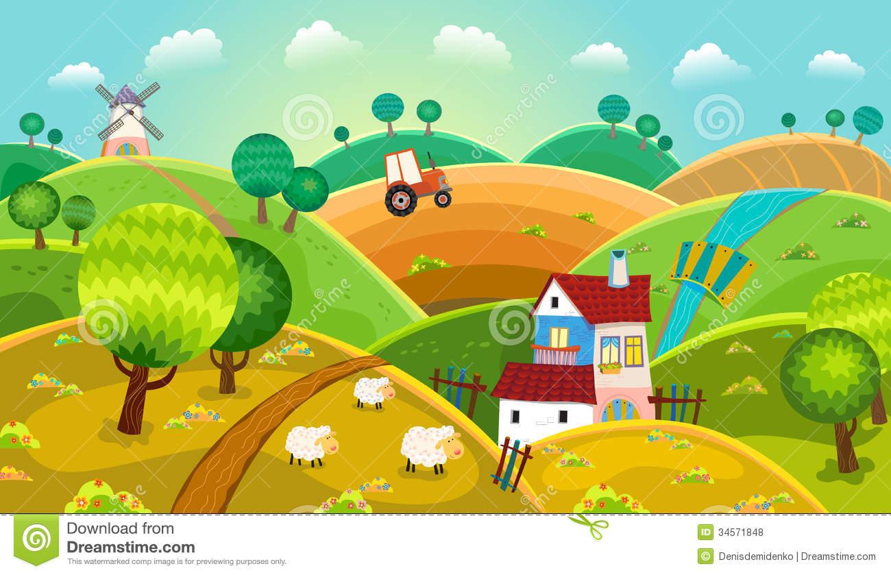 Rural development clipart.
