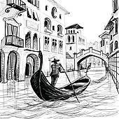 Venice Italy Clip Art.