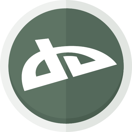 artists deviant deviant art logo icon.