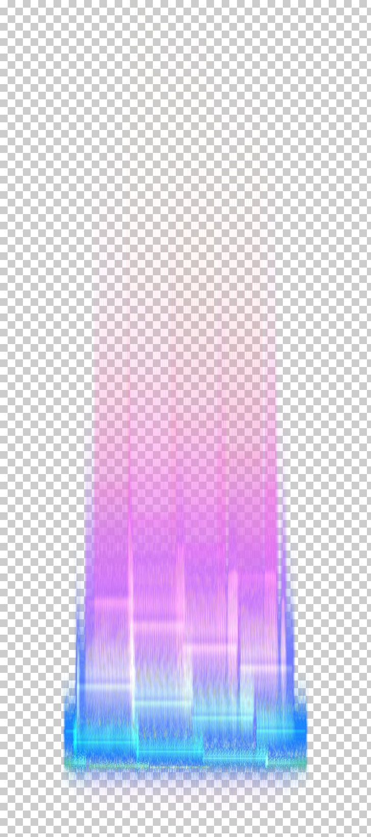 Light , Light effect, blue and pink abstract painting PNG.