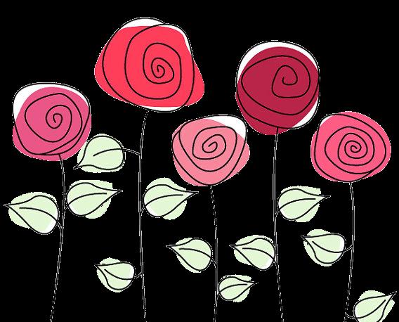 5 Cute Roses PNG by HanaBell1.deviantart.com on @deviantART.
