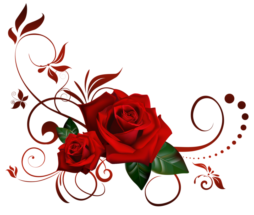 roses decor by Lyotta on DeviantArt.