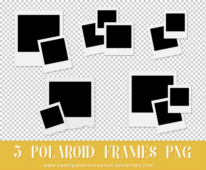 Polaroid Frames.