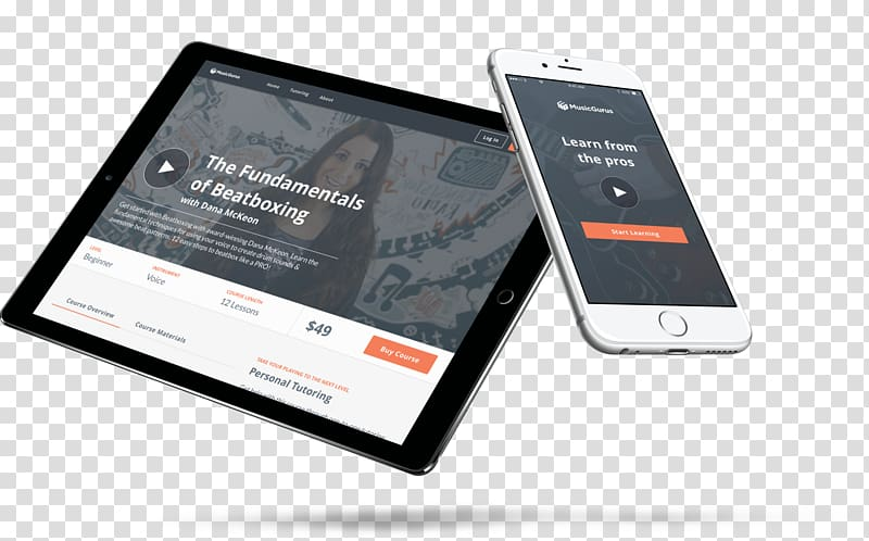 Smartphone Responsive web design Mockup Feature phone.