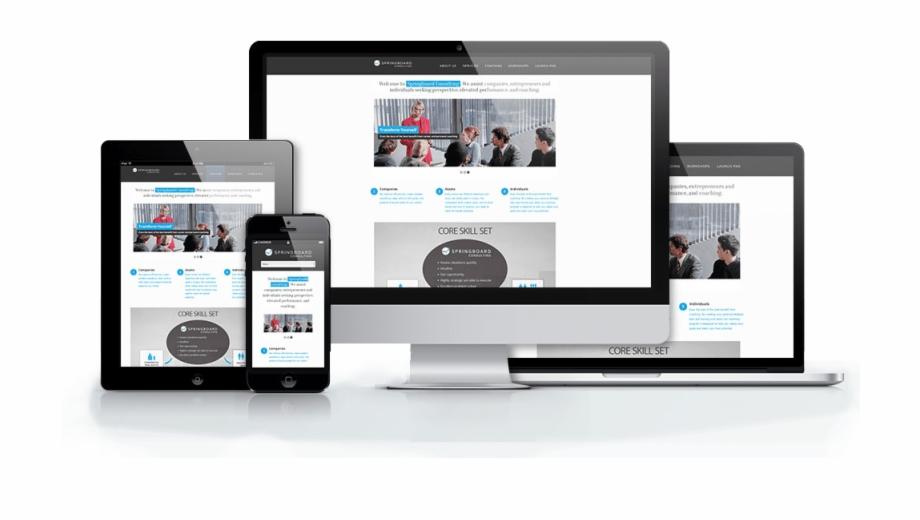 Responsive Website Mockups Website Responsive Png.