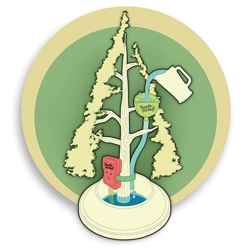 Tree Nanny 1002 Christmas Tree Watering Device (Pack of 6).