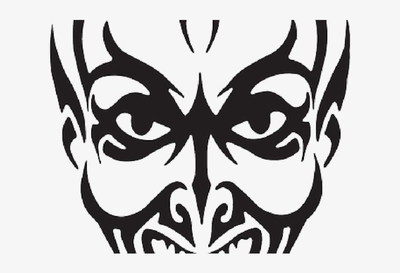 Demon Clipart Black And White.
