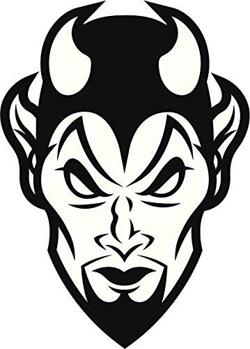 Devil Cartoon Drawing.