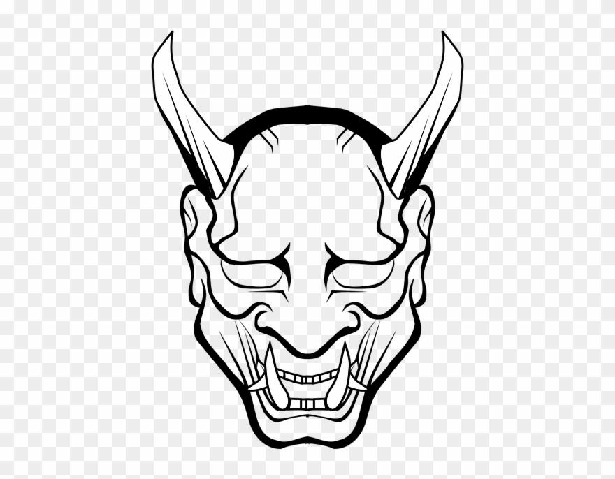 Vector Halo Devil Horn.