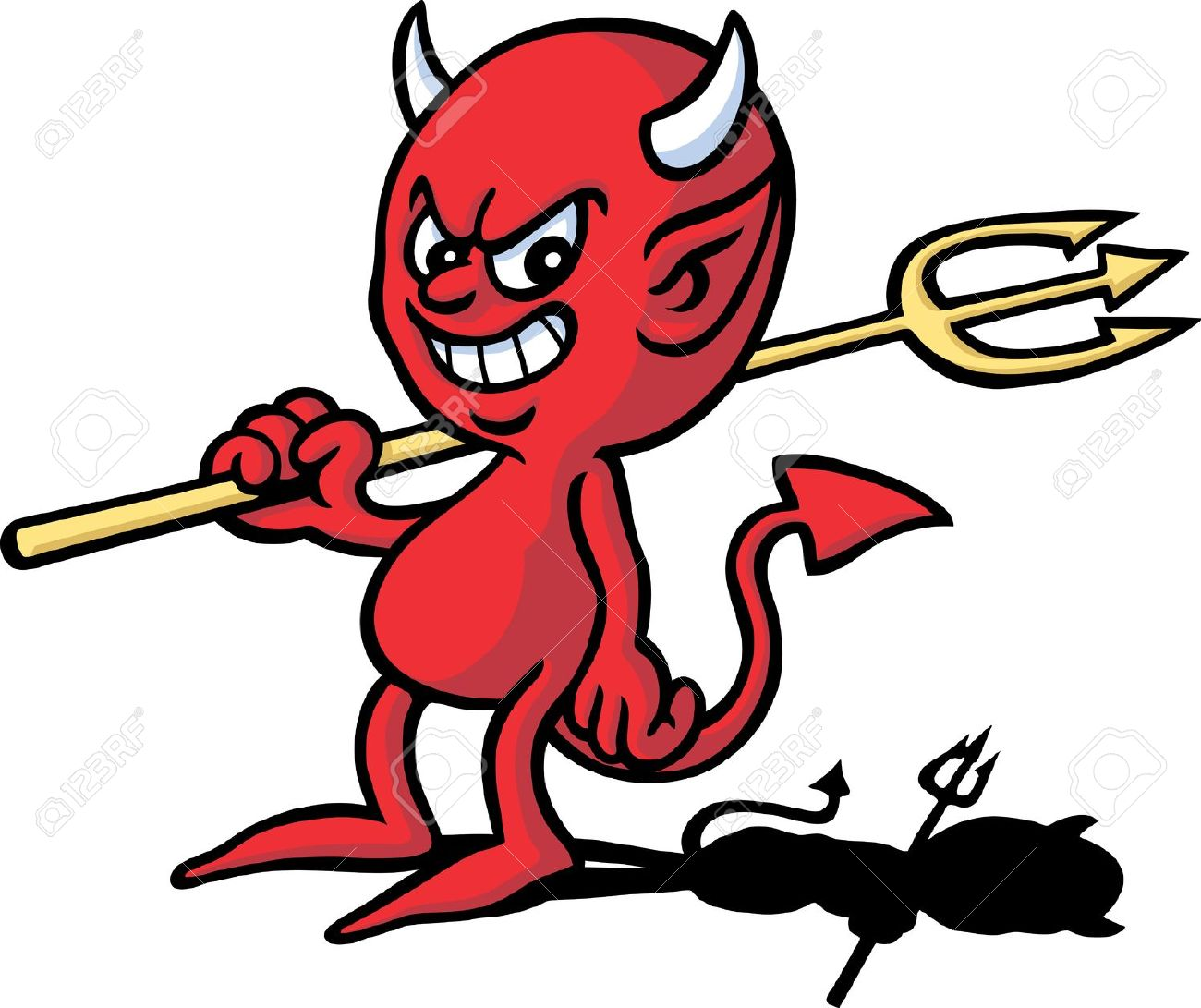 The Devil Clipart.