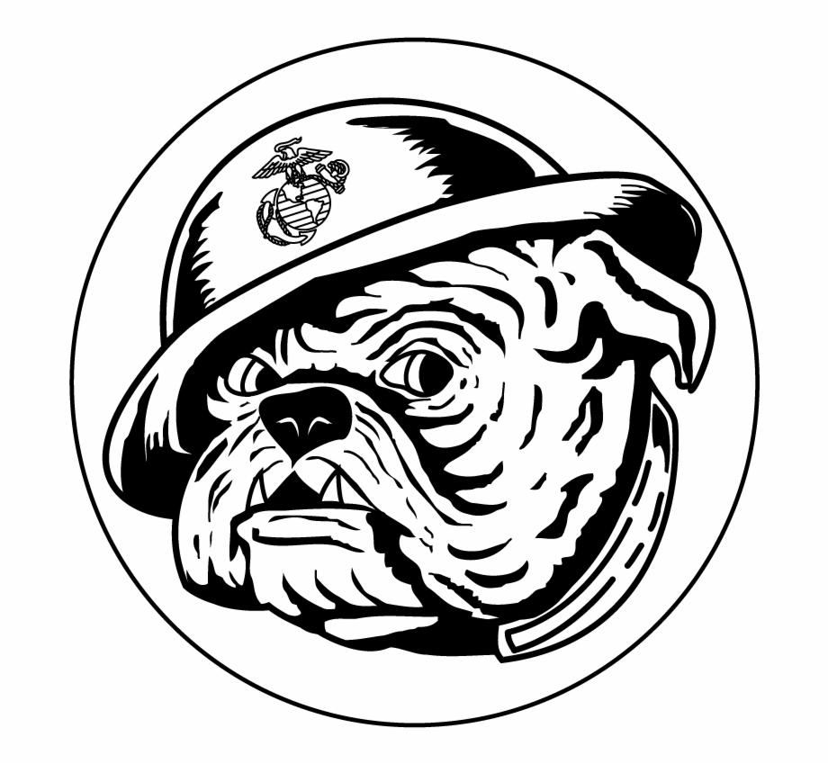 Bulldog Vector Devil Dog Marines Devil Dog Logo.