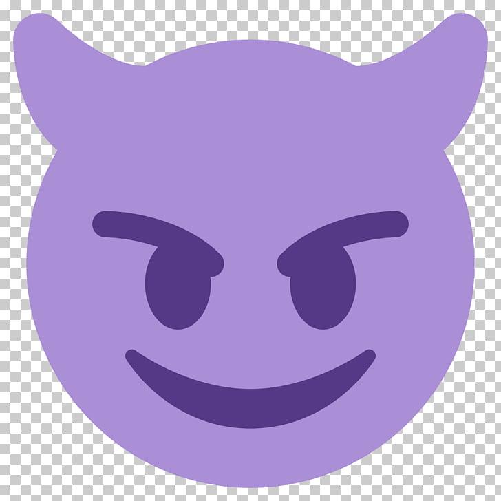 Smiley Emoji Emoticon Devil, hand emoji, demon emoji PNG.