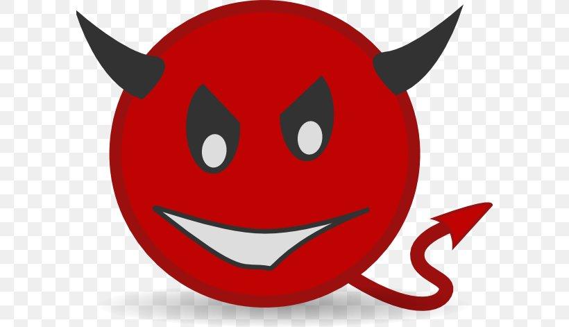 Smiley Emoticon Emoji Devil Clip Art, PNG, 600x471px, Smiley.