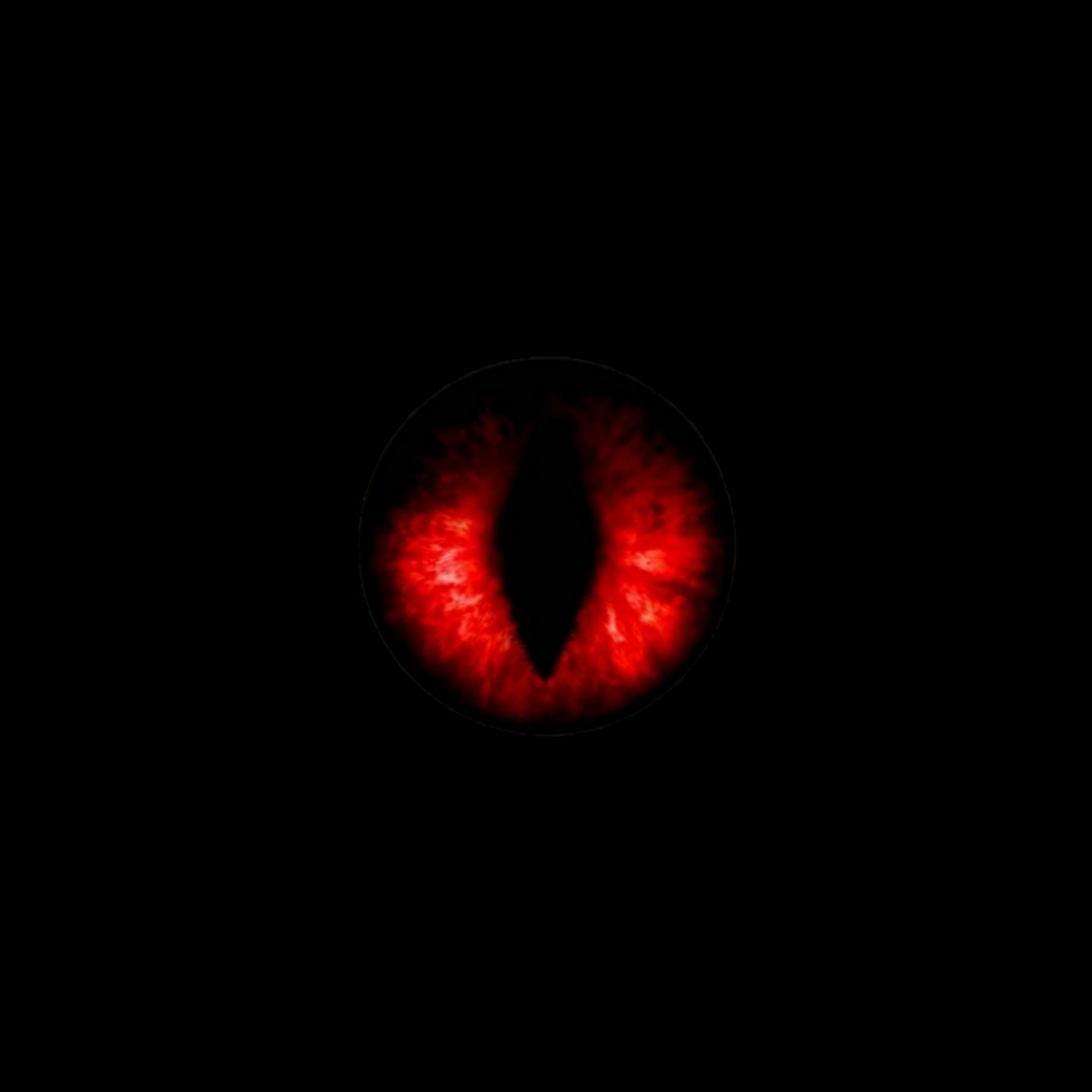 Demon Eyes Drawing.