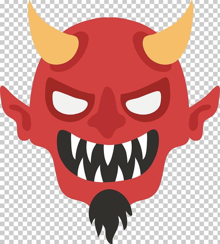 Demon Devil PNG, Clipart, Cartoon, Demon Head, Demon Vector.