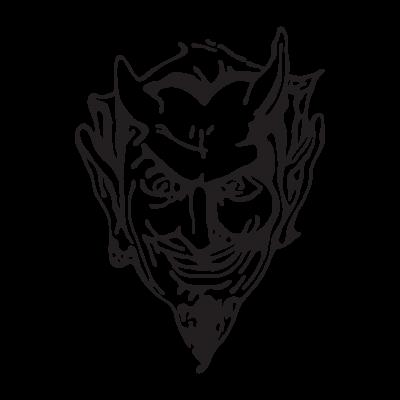 Devil Head logo vector free download.