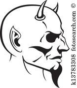 Devil head Clipart Royalty Free. 2,404 devil head clip art vector.