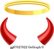 Devil Horns Clip Art.