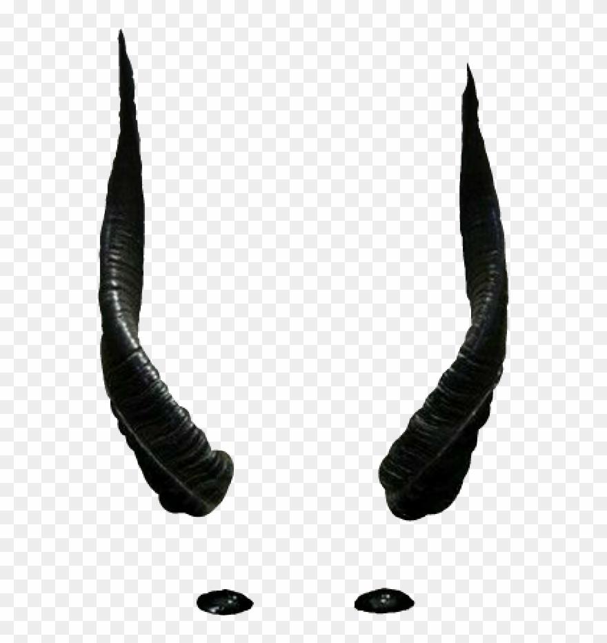 Horns Clipart Black Devil.