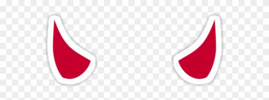 Devil Horns Emoji Clipart (#405060).