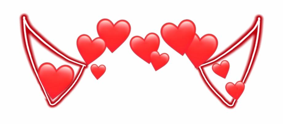 devil #horn #horns #devilhorns #heart #red #heart.