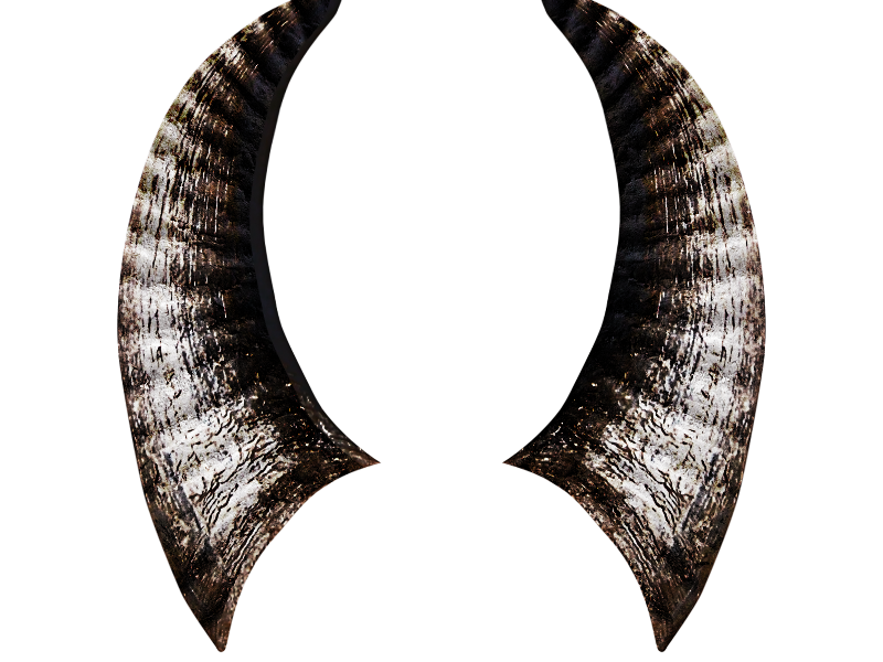 Devil Horns PNG Image (Isolated.