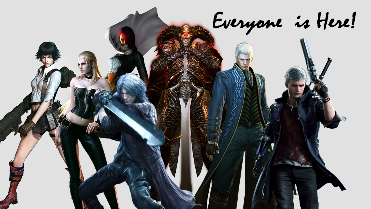 My dream for Devil May Cry 5 Special (aka Vergil) or Arcade Edition.