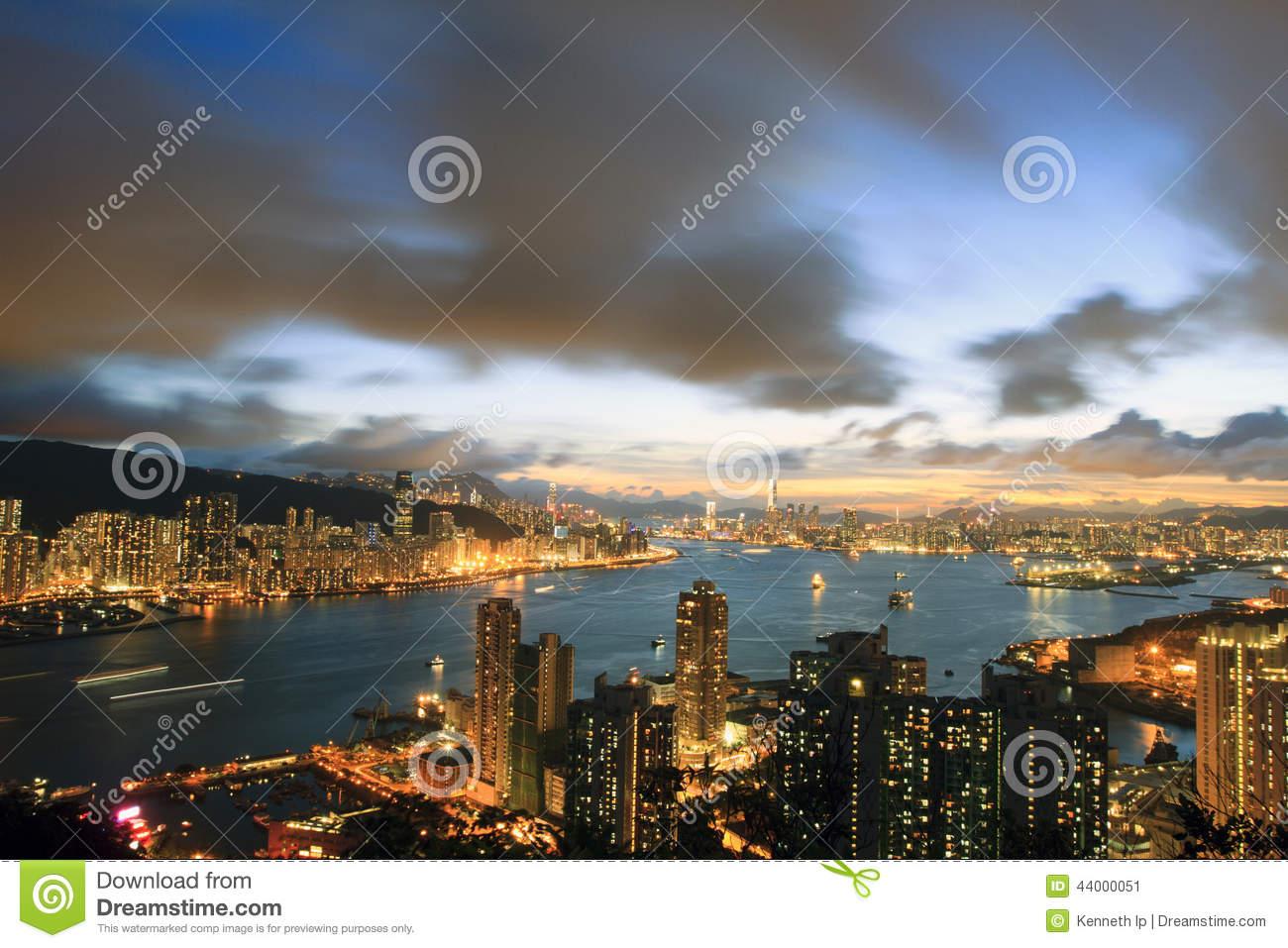 Devil's Peak, Hong Kong Stock Photo.