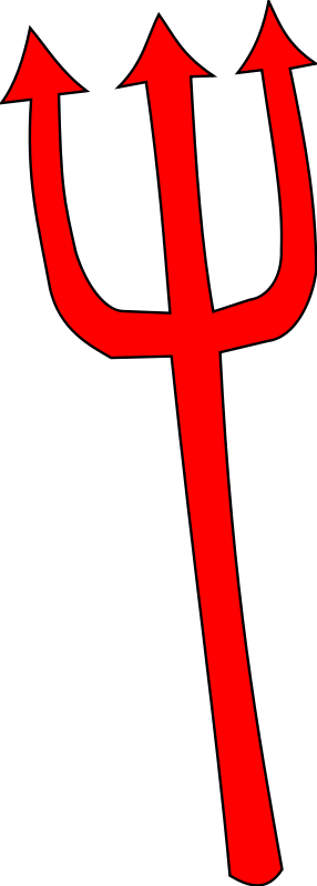 Free Devil Pitchfork Cliparts, Download Free Clip Art, Free Clip Art.