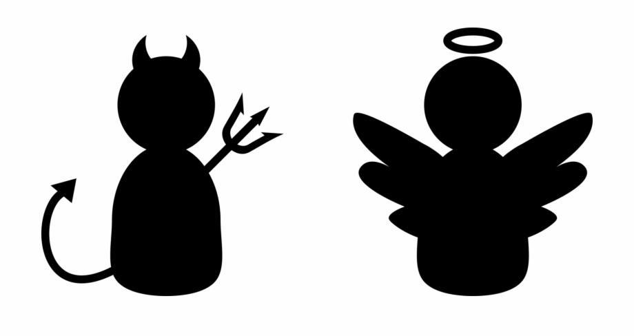 Angel And Devil Clipart & Free Clip Art Images #35467.