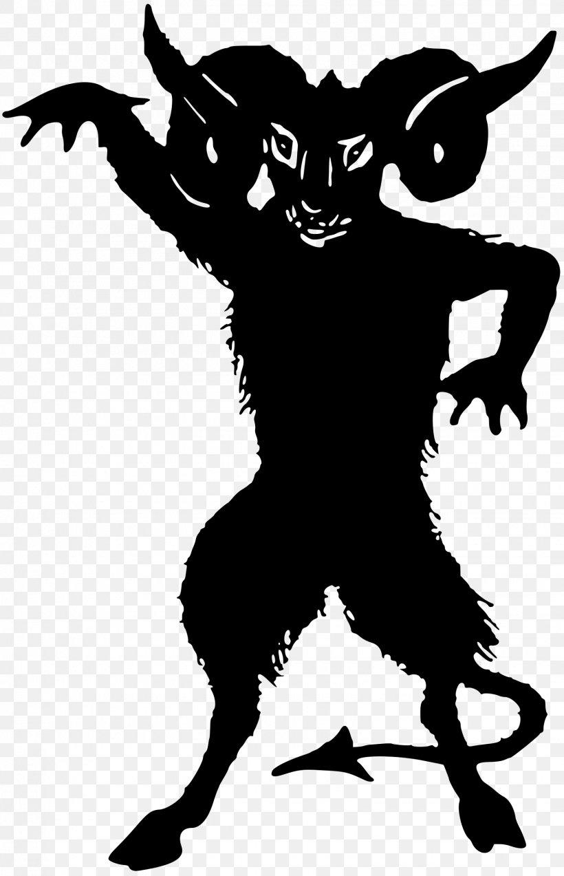 Jersey Devil Silhouette Demon Clip Art, PNG, 1545x2400px.