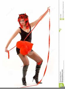 Devil Woman Clipart.