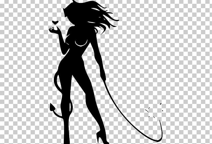Devil Woman Drawing PNG, Clipart, Angel, Arm, Art, Black, Black And.