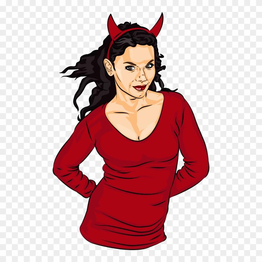Clipart Woman Vampire.