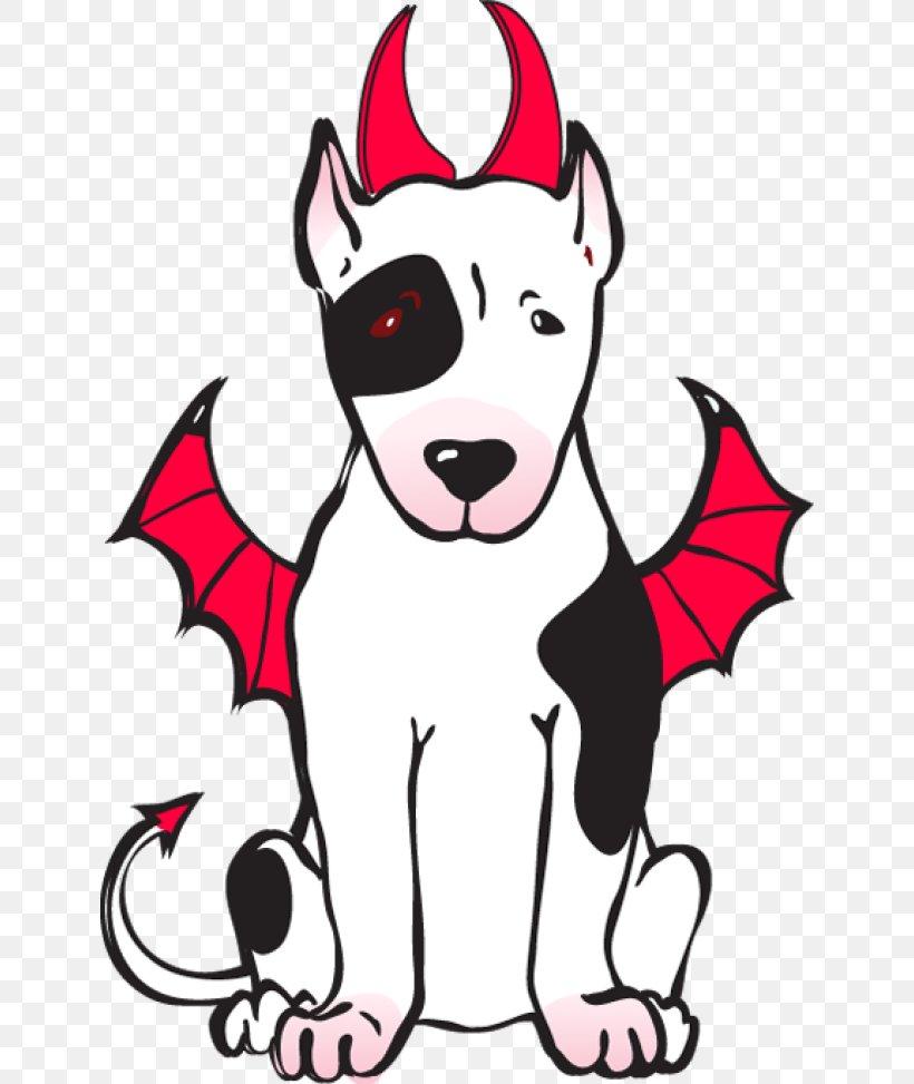 Dog Breed Devil Dog Puppy Clip Art, PNG, 640x973px, Dog.