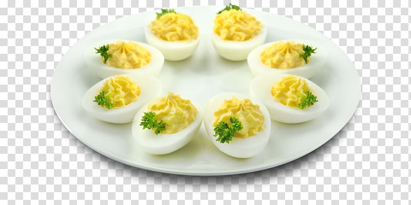 Deviled egg Buffet Bacon , mimosa transparent background PNG clipart.