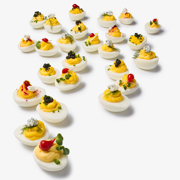 How to Build a Deviled Egg Bar.
