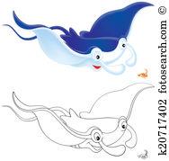 Devilfish Illustrations and Stock Art. 16 devilfish illustration.