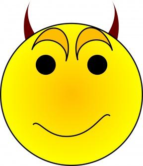 Evil Grin Clipart 51708.