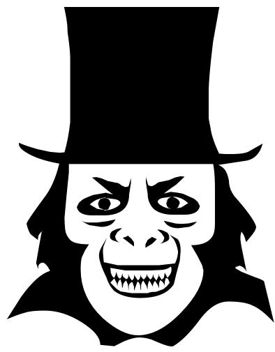 Evil Grin Clipart.