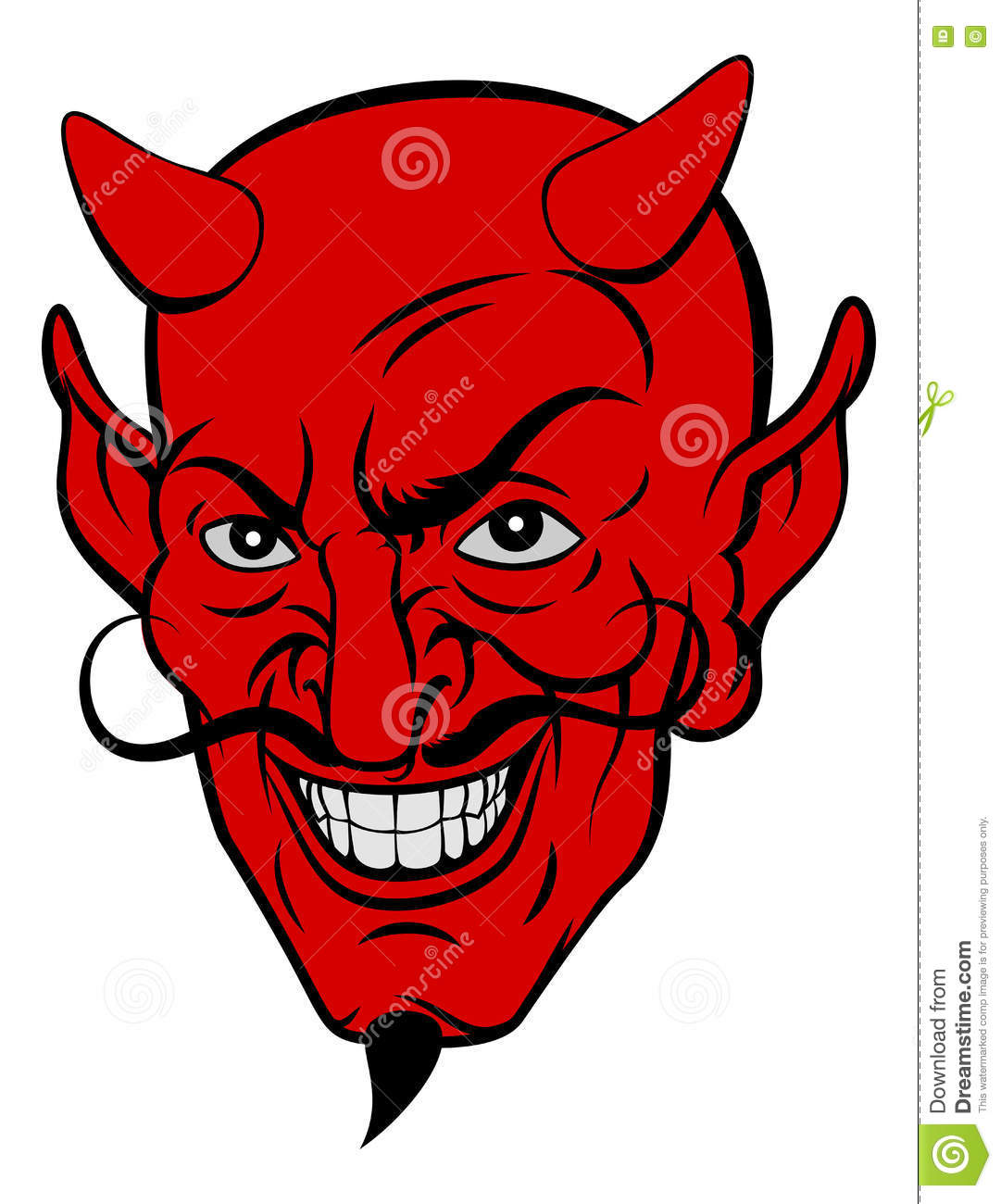 Devil: Devil's Beard Clipart