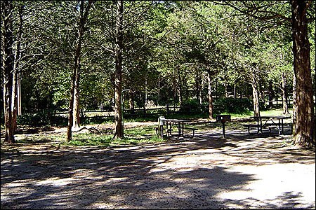 Devil's Den State Park.