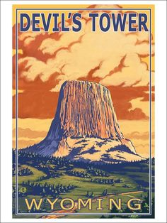 Devil, Towers and National parks on Pinterest.