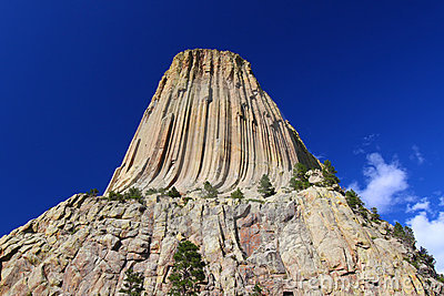 Devils Tower Wyoming Royalty Free Stock Photo.