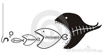 Devour Fisherman Stock Photos.