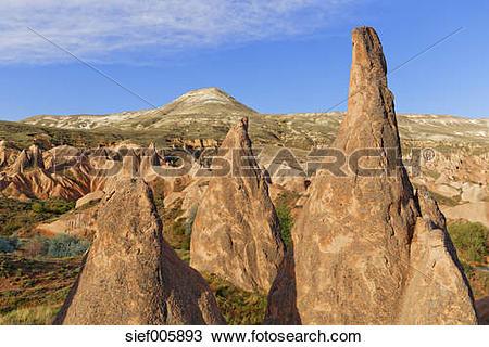 Stock Photo of Turkey, Central Anatolia Region, Cappadocia, fairy.