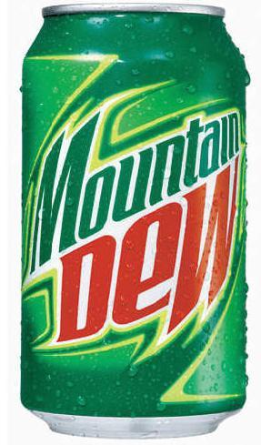 Diet mountain dew clipart.