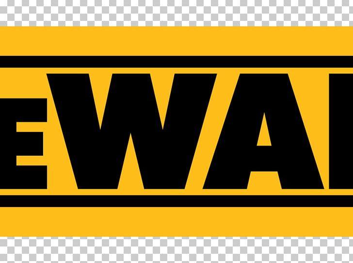 Logo Brand Font Product DeWalt PNG, Clipart, Area, Banner.