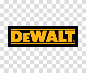 Build Instruments DeWALT, transparent background PNG clipart.