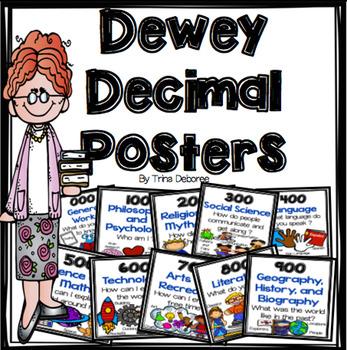 Dewey Decimal Clip Art & Worksheets.